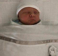 Pas geboren Evie