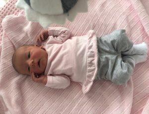 Pas geboren Julia